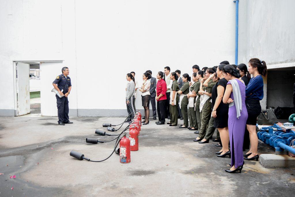 Bangkok,,Thailand,-,2018,:,Fire,Evacuation,Drill,,Safety,Training,