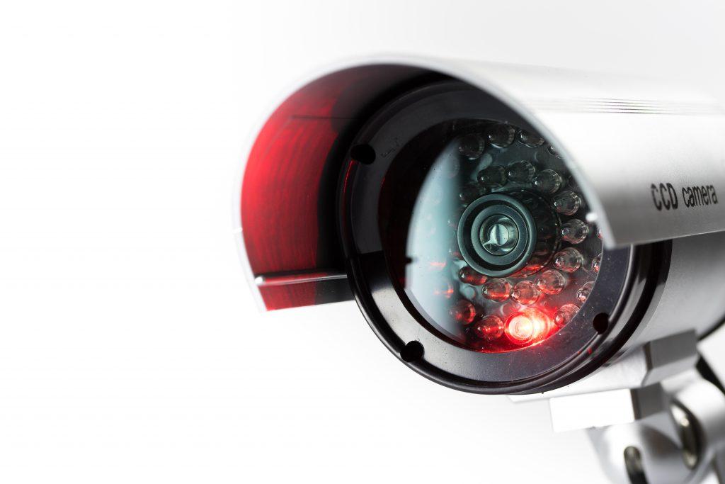 Security,Cctv,Camera,In,Office,Building