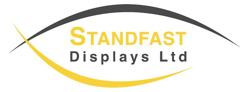 Standfast Displays new logo white background